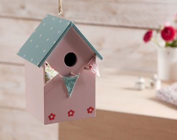 Cabane à oiseaux cachette secrète