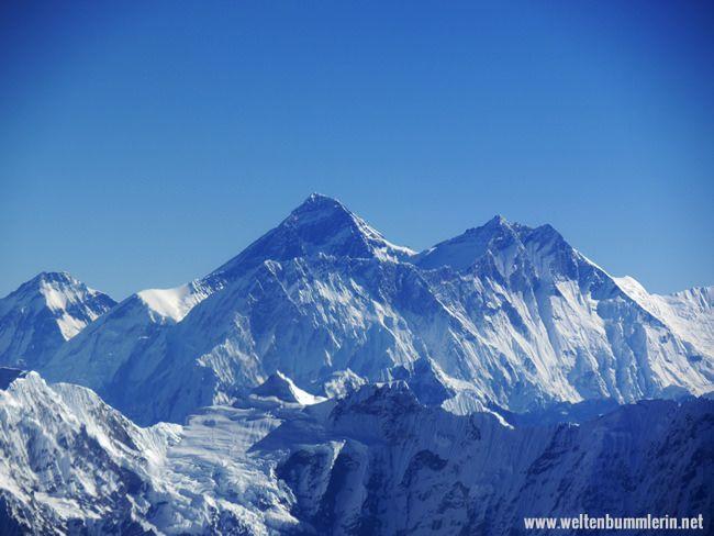 Mt. Everest, der höchste Berg der Welt