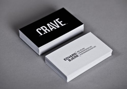 Business Card // Graphic Design // This shows what impact can be ...