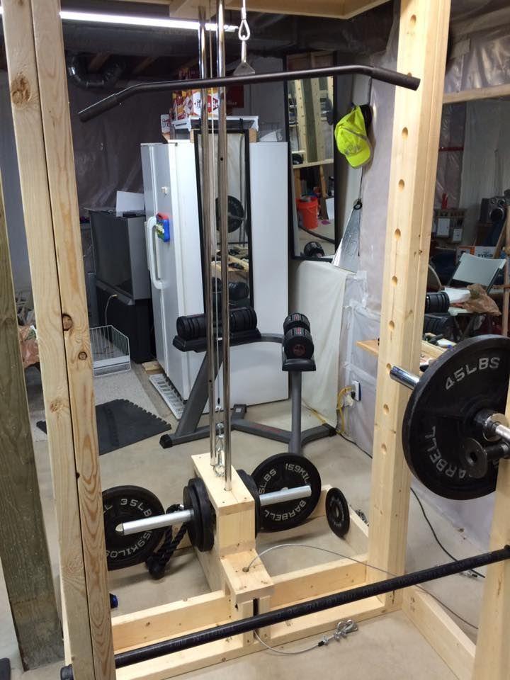 Homemade Power Rack Homegymstorage Diy Home Gym Homemade Gym Equipment Diy Gym Equipment