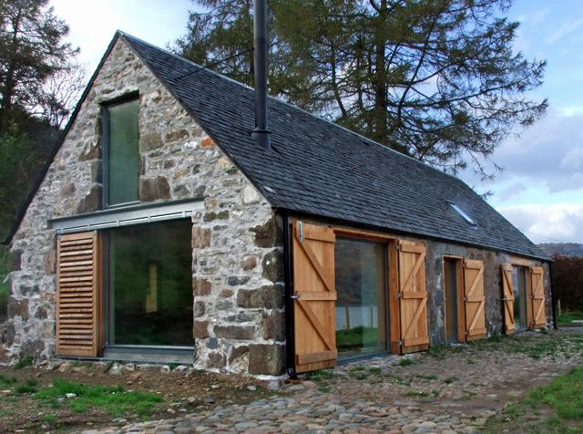 Leachachan Barn - lovely little barn conversion