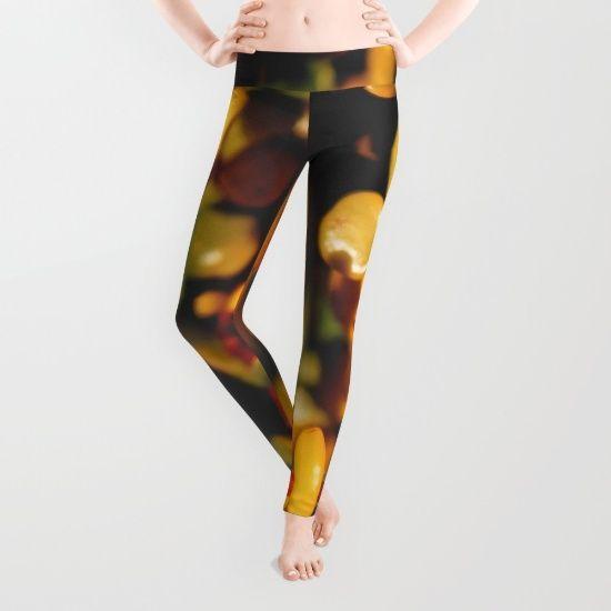Gold Leggings by MissJayPaints - $39.00