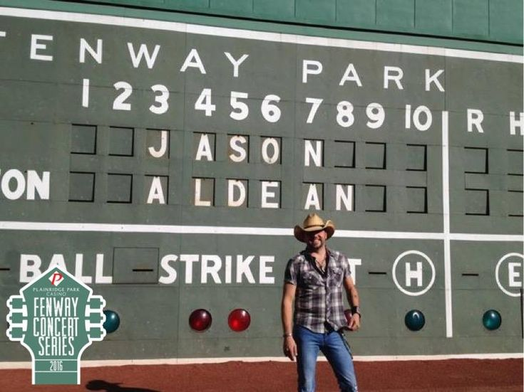 Jason Aldean's Fenway Concert Tickets On Sale This Friday!