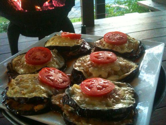 Eggplant Parmigana Stacks!! Download the recipe here: https://itunes.apple.com/us/app/cookingpot/id586052832?mt=8