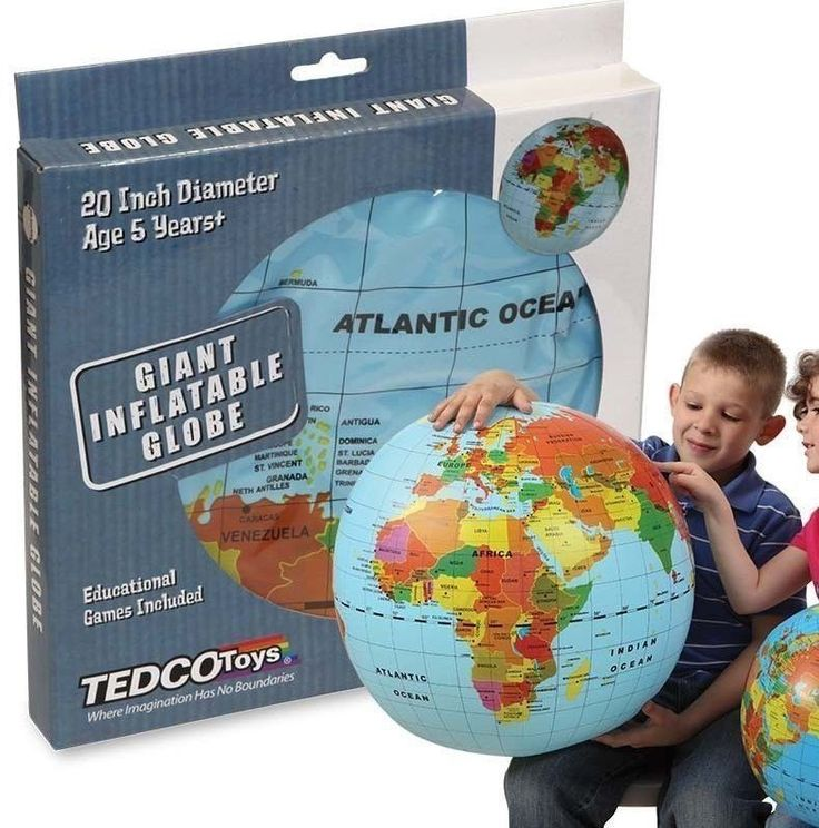 Huge Globe For Children