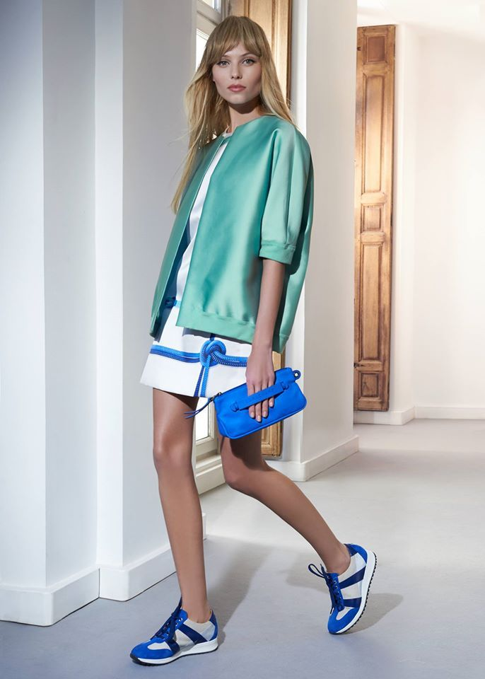 Blue Love! Longchamp 3D accessories. SS15  Visit: www.longchamp.com
