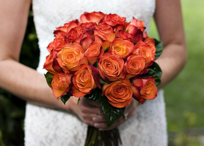 Wedding Bouquets Burnt Orange Sara Popp Central Coast Lifestyle Photography For