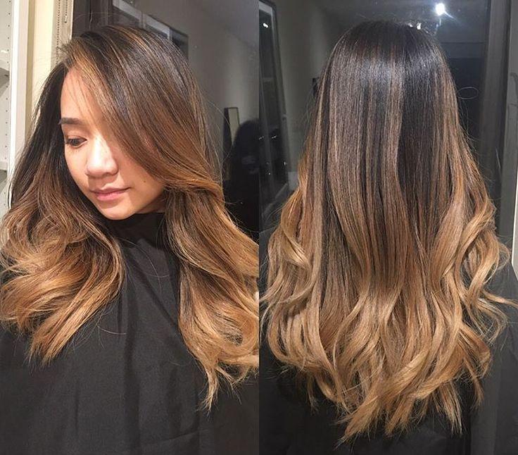 Локоны на средние волосы на темные волосы фото