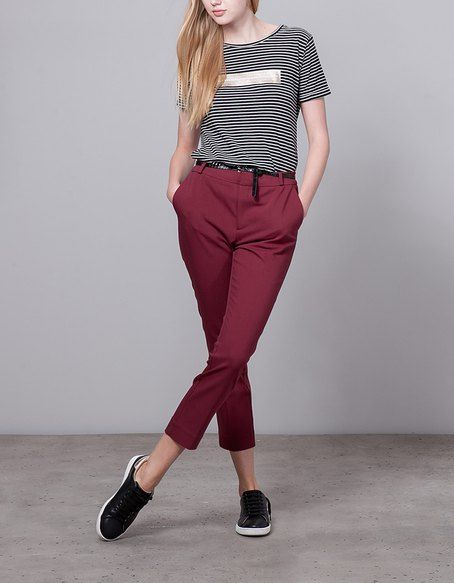 TROUSERS for woman at Stradivarius online. Visit now and discover the TROUSERS we have for you | Free returns.