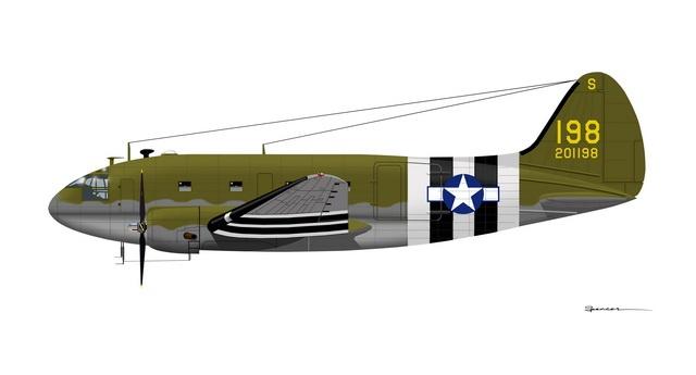 d-day aircraft stripes