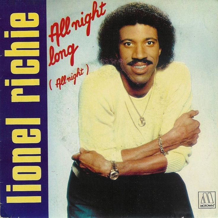 """November 12, 1983 - Lionel Richie started a four week run at No.1 on the US singles chart with 'All Night Long', becoming Motown's biggest seller to date, it made No.2 in the UK. The music video was produced by former Monkee and TV video pioneer Michael Nesmith and directed by Bob Rafelson. U.S. military personnel told Richie that """"All Night Long (All Night)"""" was playing in the nighttime streets of Baghdad during the 2003 invasion of Iraq. •• #lionelrichie #thisdayinmusic #1980s #motown"""