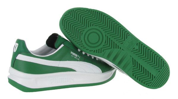 Amazon White/Green Puma GV Special Men's Shoes Fashion Sneakers. Click here for Women's & Men's Puma Shoes on Sale http://www.streetmoda.com/collections/puma-shoe-sale from Streetmoda.com