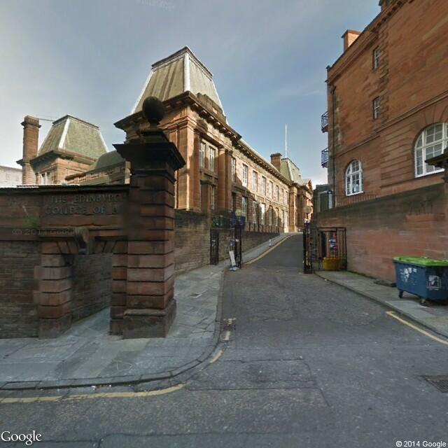 Edinburgh College Of Art, Lauriston Place, Edinburgh, United Kingdom | Instant Google Street View