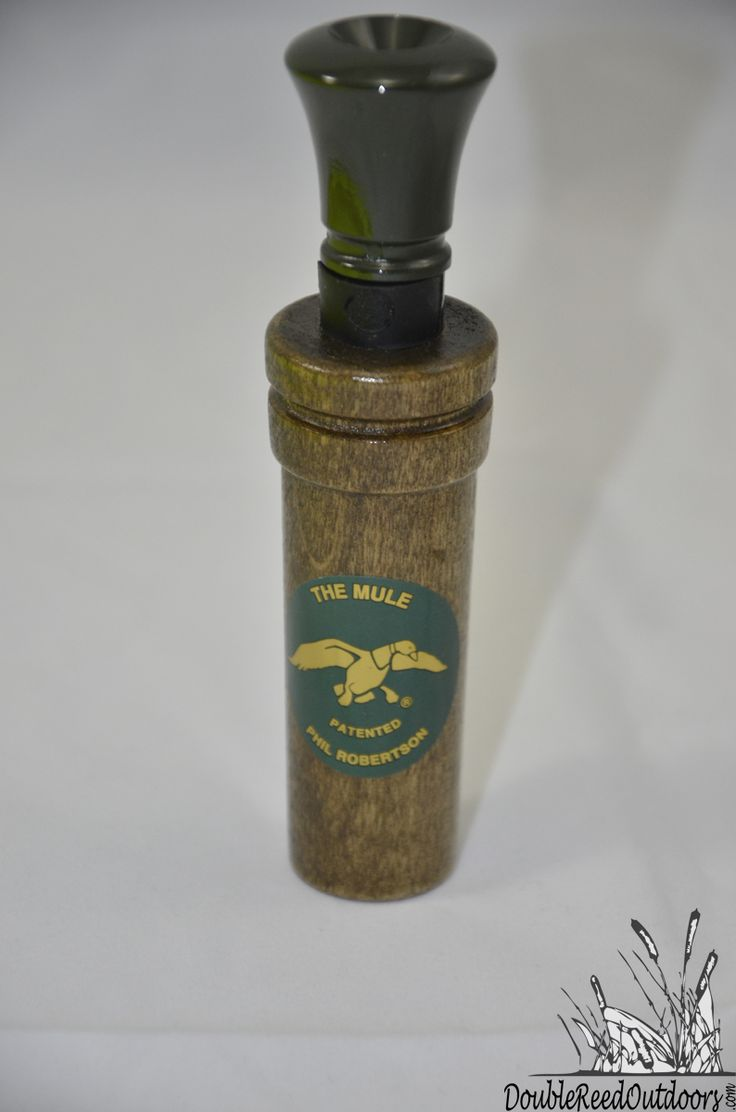 Duck Commander Calls THE MULE Double Reed Wood Duck Call (DCMULE)