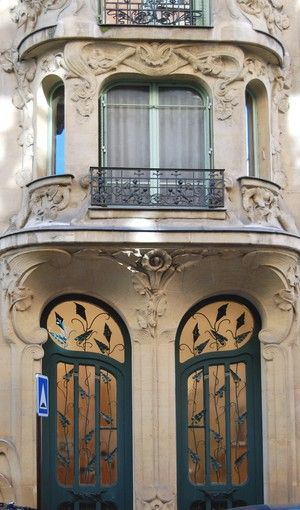 Bonjour Paris - Art Nouveau Architecture in Paris