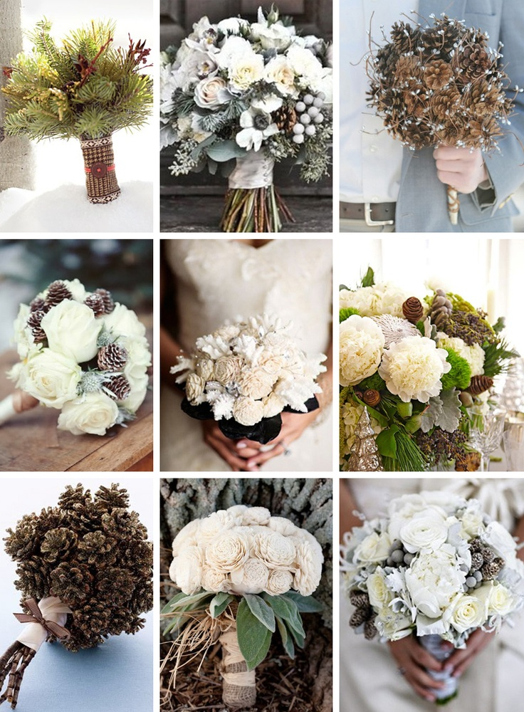 A perfect winter bouquets