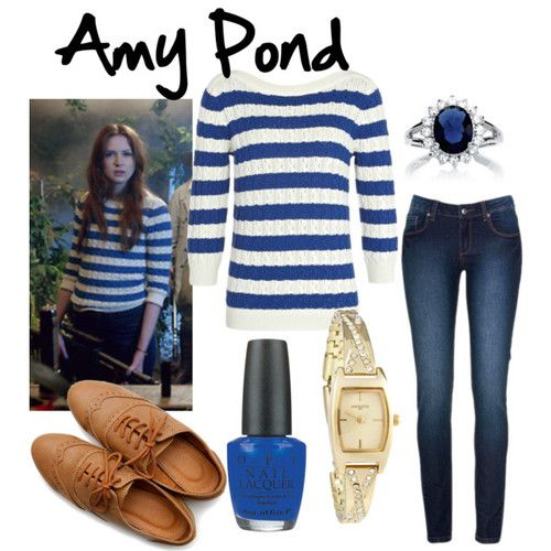 With screen accurate jumper/sweater! Character: Amy Pond Fandom: Doctor Who Episode: Dinosaurs on a Spaceship