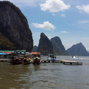 Koh Panyi - Floating City - Stadt auf dem meer - Ao Phang Nga Bucht - Andamensee - Thailand