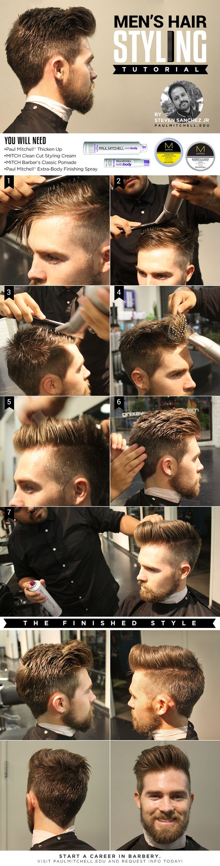 A Hair Styling Tutorial for the modern day haircut Hair trends and styles Have this done at our Hair Salons located at the Lower Ground Floor and Floor
