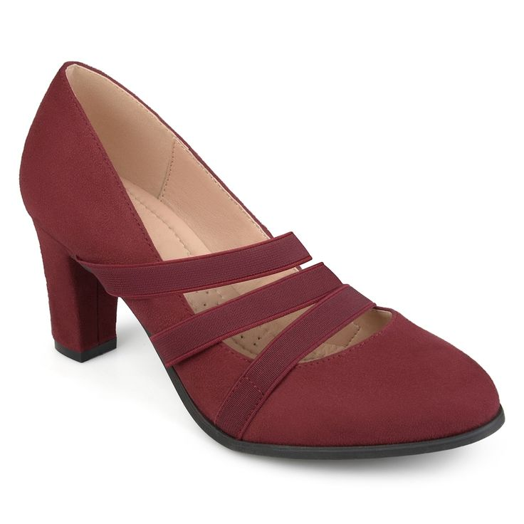 Journee Collection Loren Women's High Heels, Size: medium (6.5), Dark Red