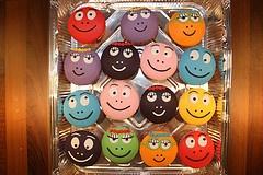 Barbapapa cupcakes