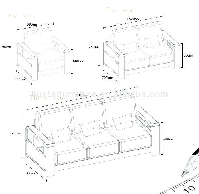 Living Room Furniture Sofa Dimensions, Standard Furniture Dimensions