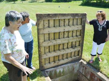 Septic system at HRC cemetary outrages Orillia group