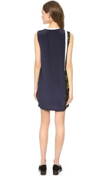 3.1 Phillip Lim Многослойное платье со смешанным принтом