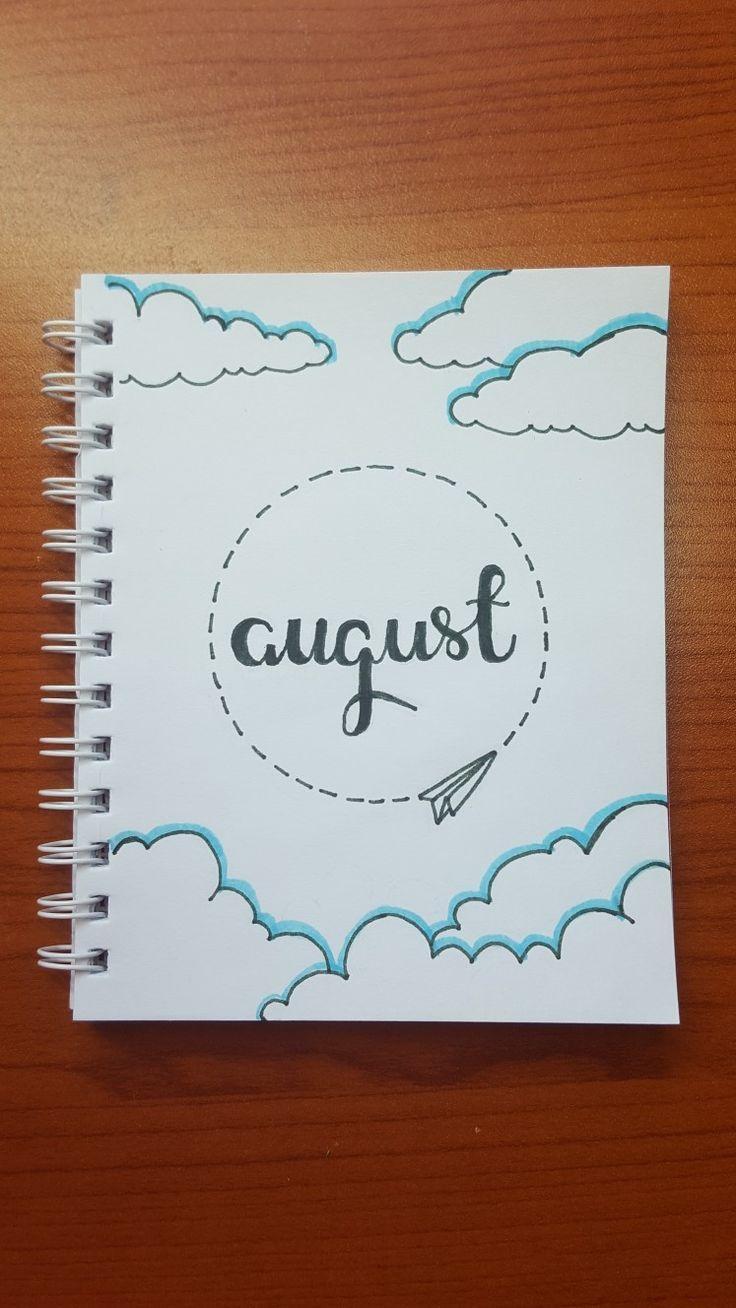 Ich liebe diesen August Bujo-Cover