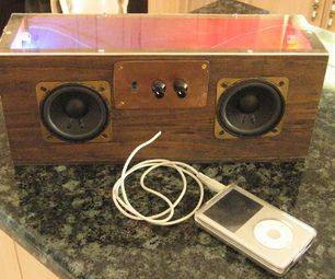 Alto-Falantes iPod Vintage (LEDs com!)