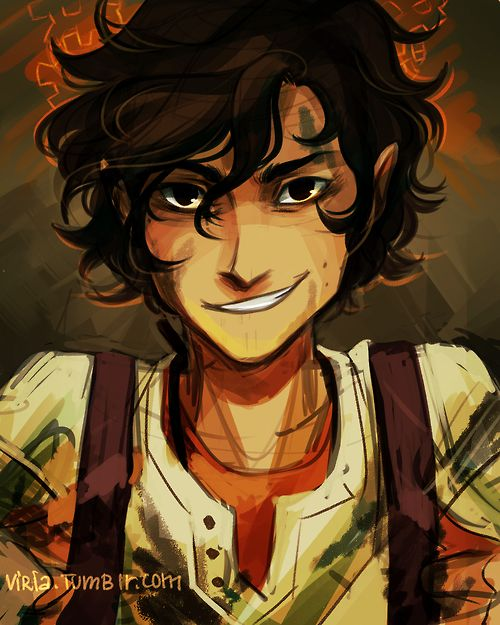 Leo Valdez - Nah, I am just a mechanic. Well of course I would make Leo too. I am strangelo fond of the idea of drawing Leo with some moles.