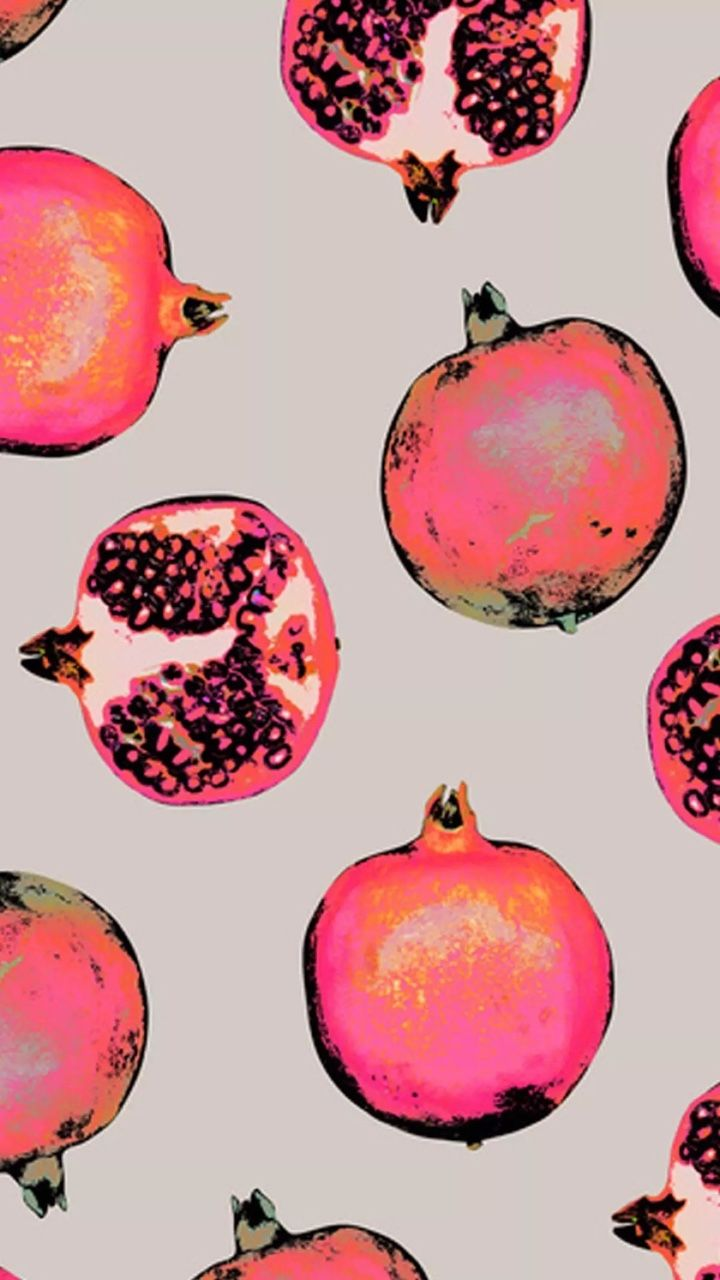 Pomegranate ★ Find more fruity #iPhone + #Android #Wallpapers and #Backgrounds at @prettywallpaper
