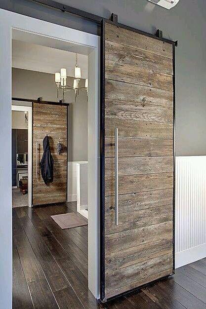 Leuk idee voor een deur