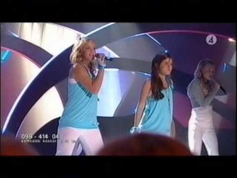 Bianca Wahlgren & Malin Eriksson - Kan Det Bli Vi Två (Junior Eurovison Song Contest 2006) - YouTube