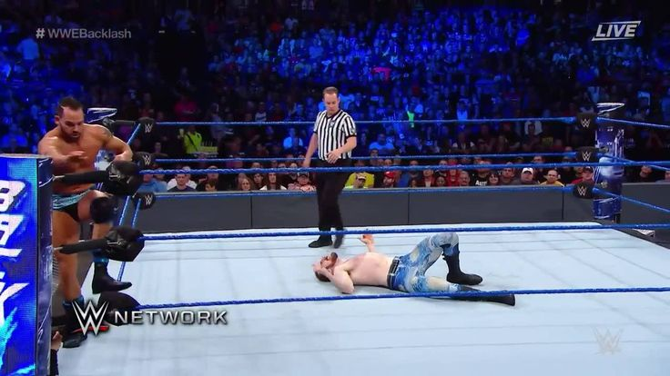 Aiden English and Tye Dillinger GIVE IT THEIR ALL in the WWE Backlash Kickoff Match on WWE Network.