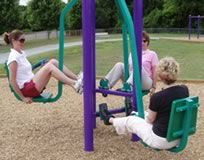 Fitness Playground, Gym, and Courses at Outdoor Fitness Equipment