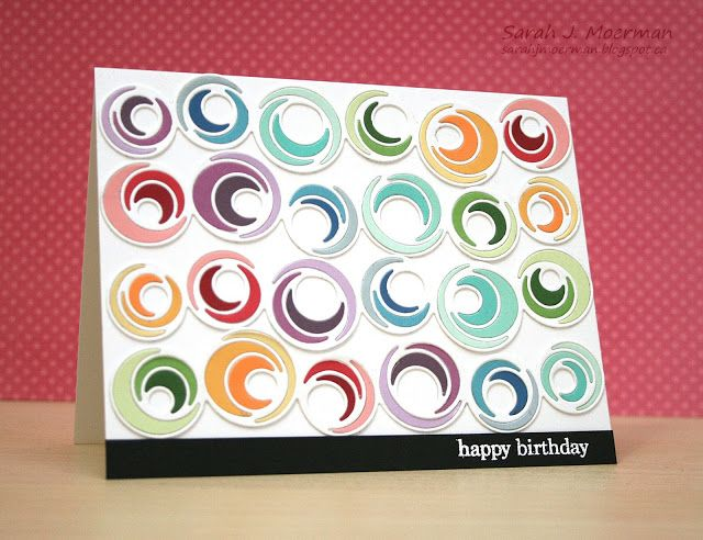 My Impressions: Simon Says Stamp Spinner Trail Birthday Card