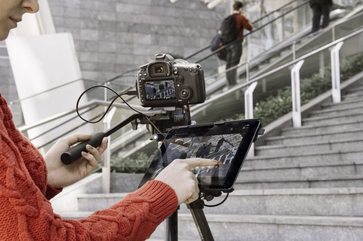 Manfrotto Digital Director, l'iPad è centro di controllo per DSLR