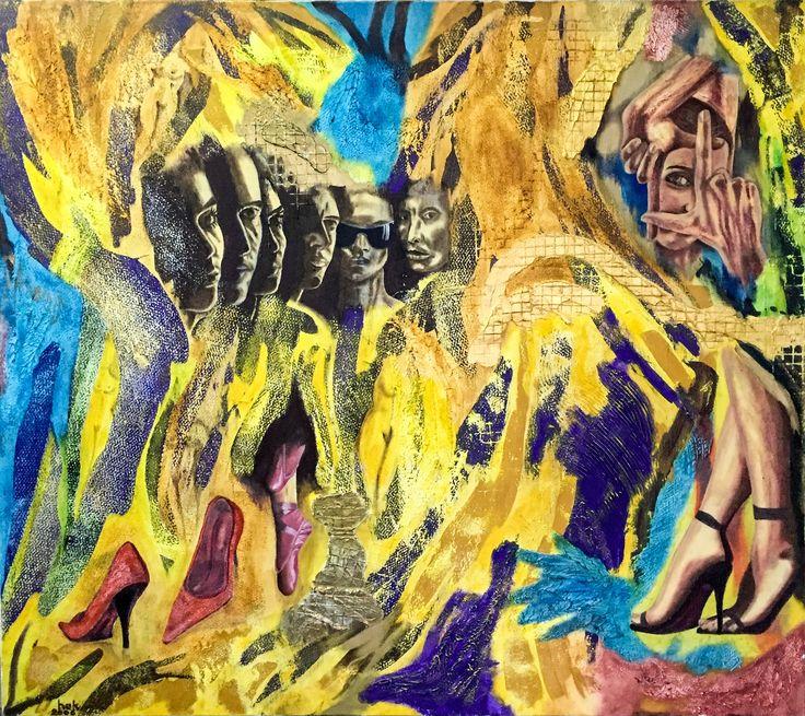 Identity by Hüseyin Ak Tuval Üzerine Yağlı Boya / #OilonCanvas 120cm x 106cm  #gallerymak #sanat #resim #tablo #ressam #tasarim #elyapimi #sergi #gununkaresi #gununfotografi #istanbul #finearts #contemporaryart #modernart #painting #atelier #abstractart #artcollector #artlovers #artcollection #expressionism #art #instaart #stil #artbasel #atolye #paintings #yagliboya #oilpainting
