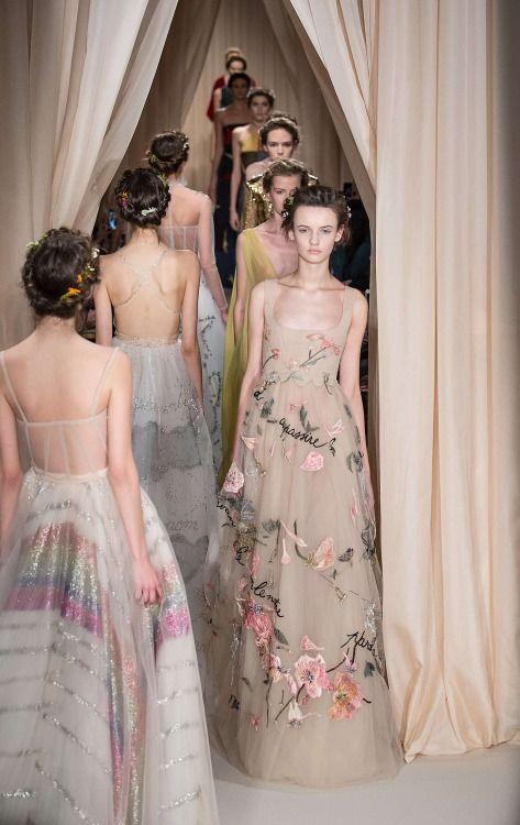 Valentino Haute Couture Spring 2015.