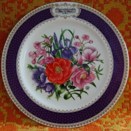 Chelsea Flower Show Plate 1986 - Wall Plates