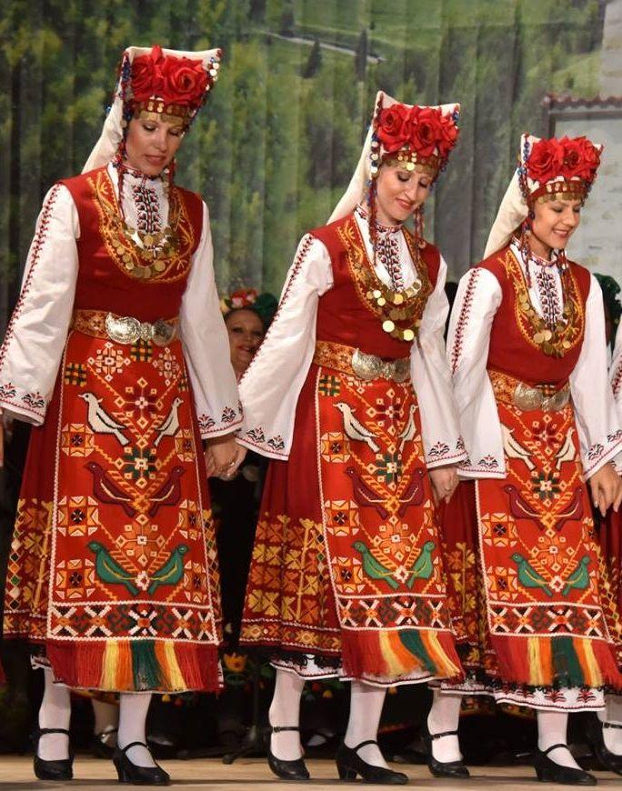 Bulgarian folk dress pictures