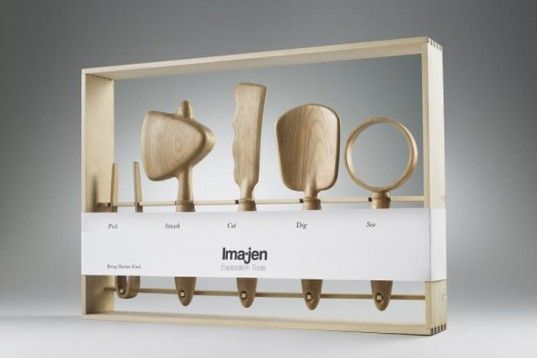 Kenji Huang, toolkit, wooden toys, sustainable wood, rough design, exploring nature, Gardening, Green Products, Inhabitots