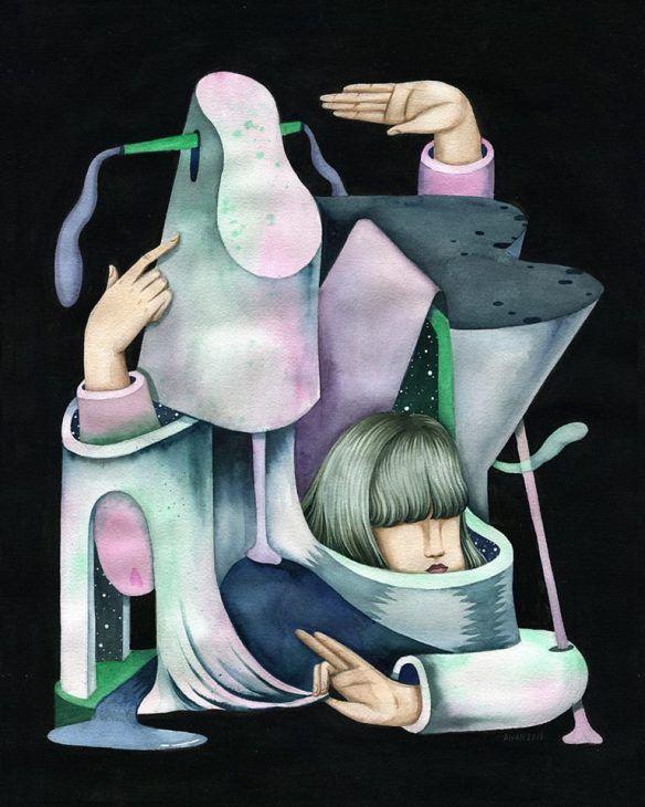 Andrea Wan's Explorations of the Internal, External | Hi-Fructose Magazine
