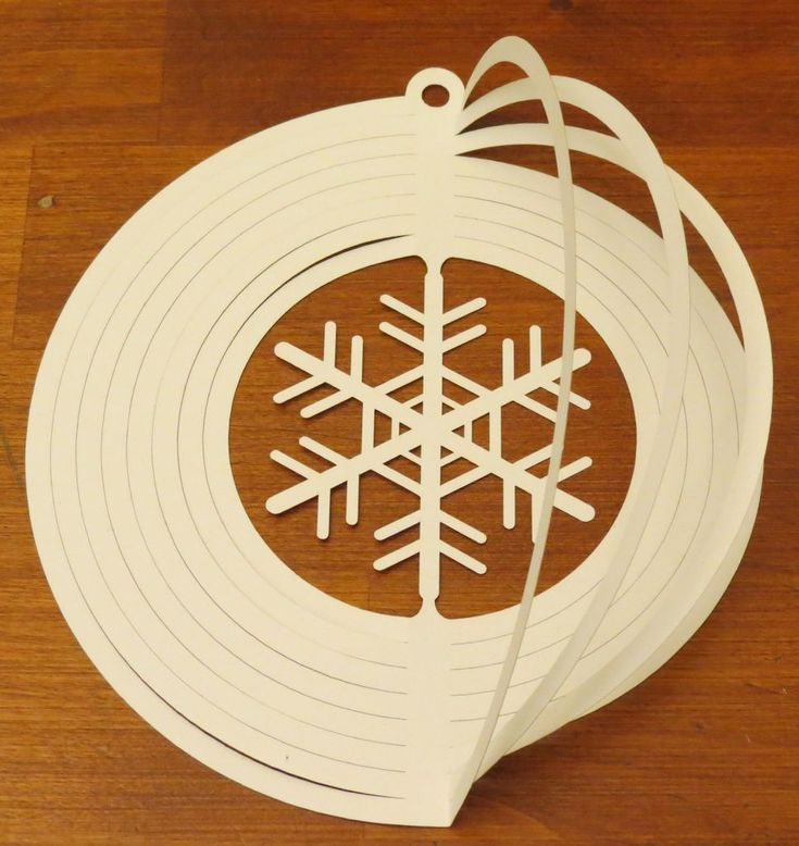 Cardstock Wind Spinner Nye Tree Diy Ornament Ideas