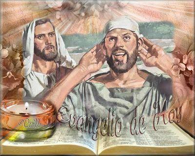 Evangelio del Dïa | La fuerza de la fe  Marcos 7 31-37. Tiempo Ordinario. Acércate a Jesús te ayudará a saber escuchar y a hablar bien de Él y de los demás.  Del santo Evangelio según san Marcos 7 31-37  Se marchó de la región de Tiro y vino de nuevo por Sidón al mar de Galilea atravesando la Decápolis. Le presentan un sordo que además hablaba con dificultad y le ruegan imponga la mano sobre él. El apartándole de la gente a solas le metió sus dedos en los oídos y con su saliva le tocó la…