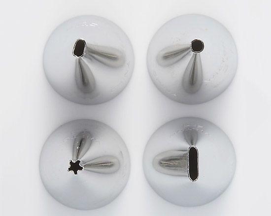 Wilton チップセット ライティング / 4個セット | お菓子・パン作りの道具,絞る,口金・丸 | TOMIZ 富澤商店