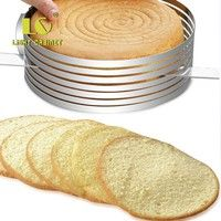 Necessity for bakery,cake store,home,etc. Easy to use: Push the handles outward, you can get a bigge
