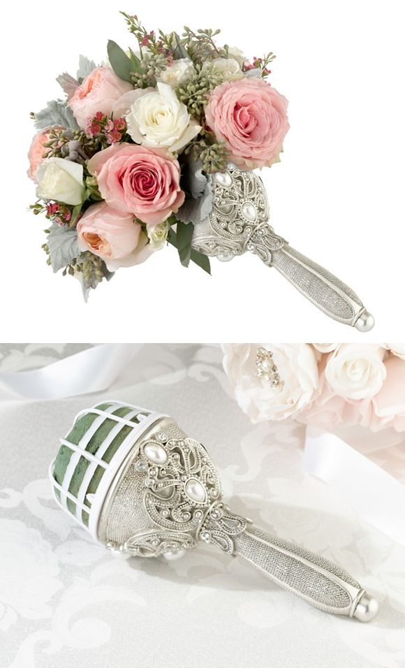 Buy Lillian Rose Regal Elegance Jeweled Bouquet Holder and other party favors and personalized gifts.