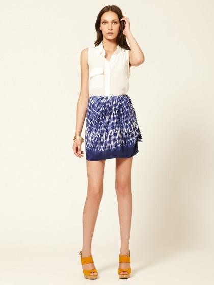 how to wear a sarong skirt